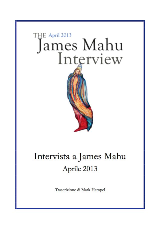 Intervista a James, 1304-Cover